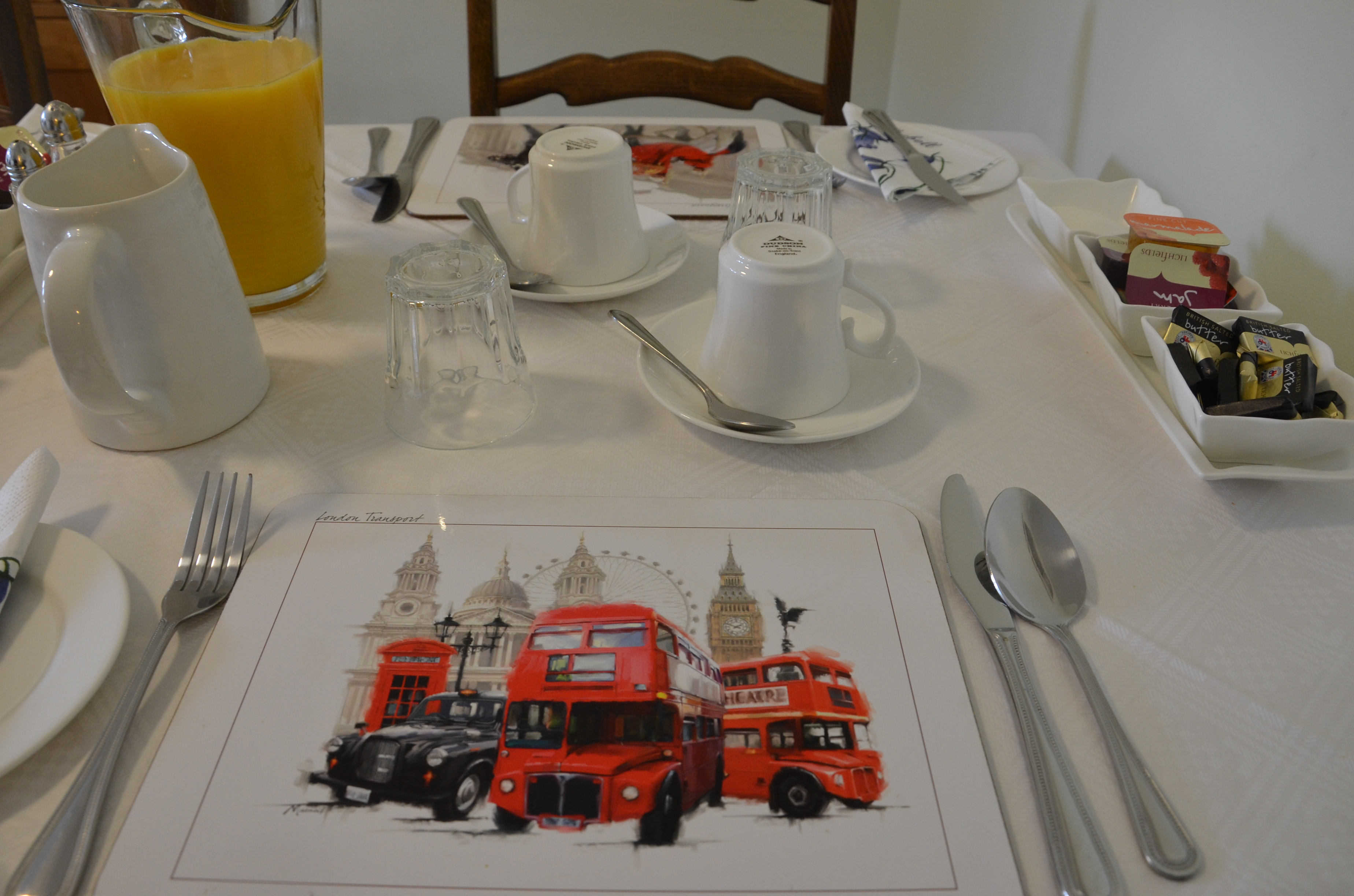 English Breakfast Table Set Up Table Designs