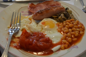 English Breakfast at Linhill