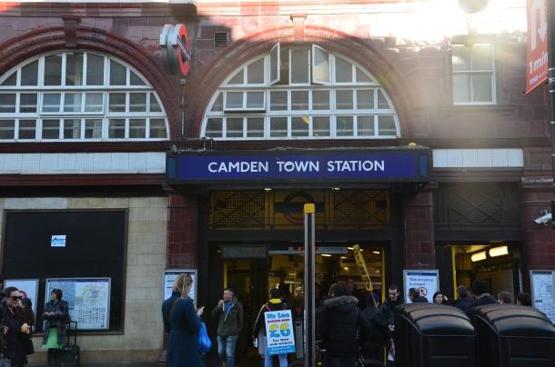 Camden train station