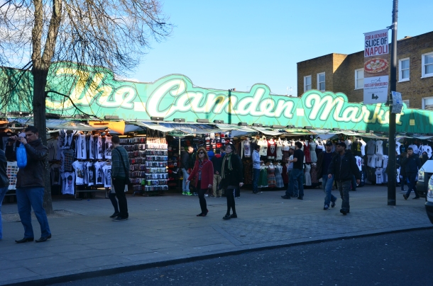 the famous Camden Market