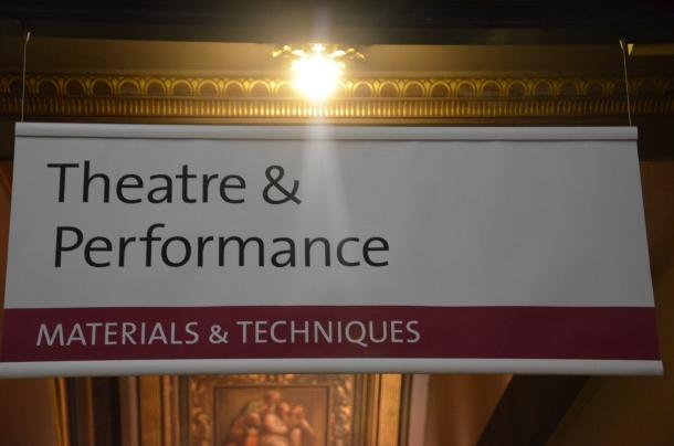 Theatre and Performance exhibit