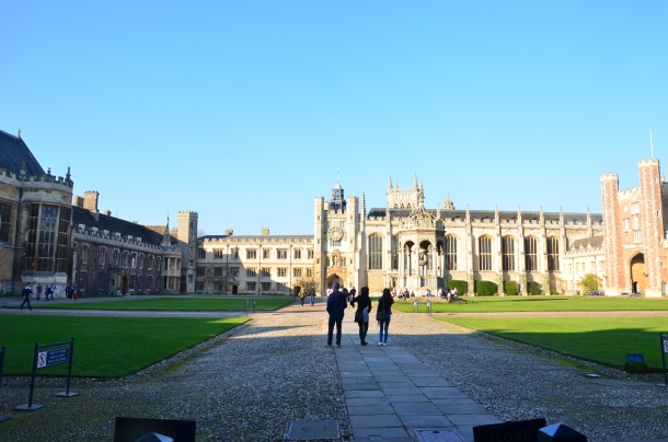 King's College (in the garden)