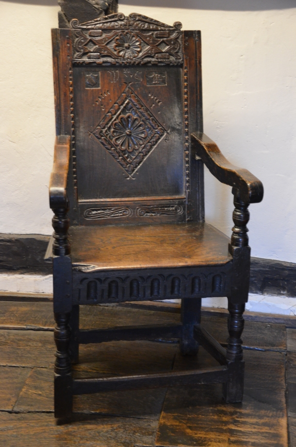 Shakespeare's Courting Chair