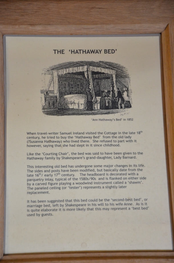 'The Hathaway Bed' information