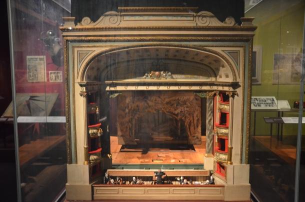 model of the Theatre Royal, Drury Lane (1911)