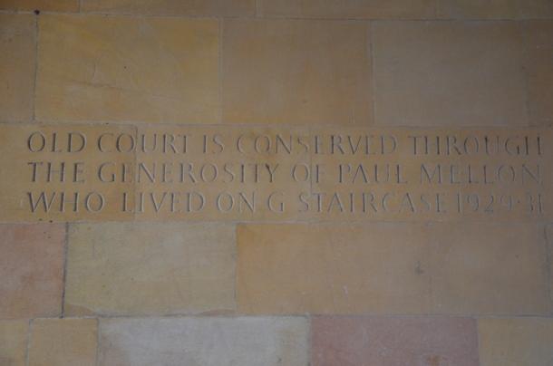 Old Court inscription