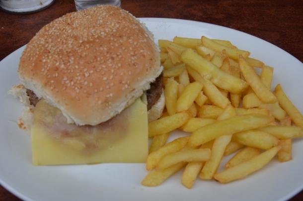 My Cheeseburger & Fries