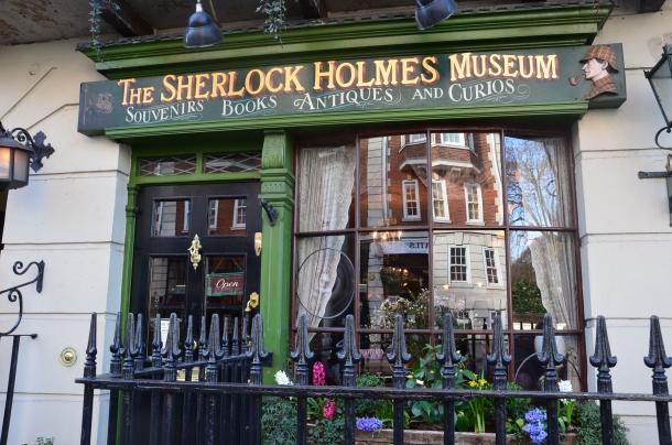 The Sherlock Holmes Museum shop