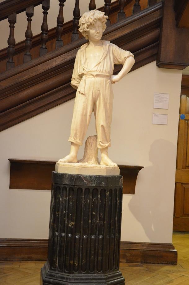 """""""Peasant Boy"""" c.1880"""