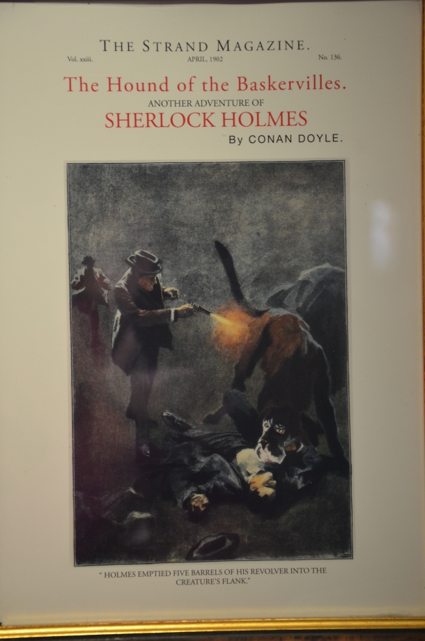 Sherlock Holmes featurette in The Strand