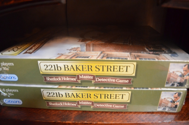 221b Baker Street, Sherlock Holmes Master Detective Game