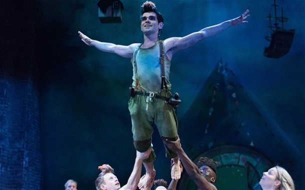 Sam Swann as Peter Pan  © telegraph.co.uk