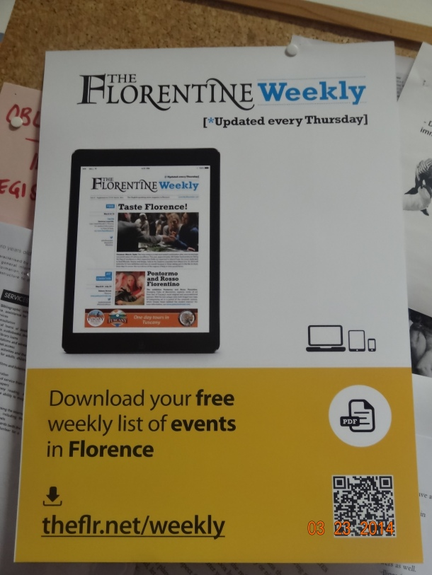 free subscription to Florentine Weekly